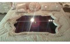 MF 80 WPD Зеркало будет выполнять функцию декора в интерьере, и в то же время повысить комфорт в спальне. Фигурная форма, резной декор придают зеркалу эксклюзивный внешний вид. Габариты: 850*50*1350