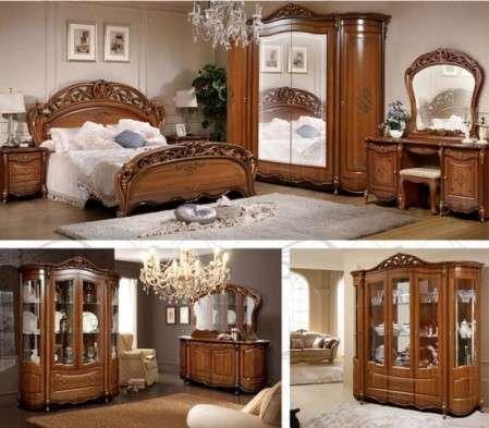 ореховая мебель для спальни аллегро николас в киеве одессе харькове
